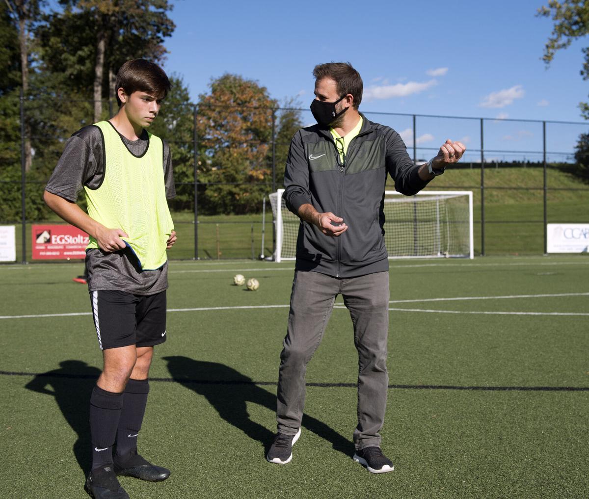 Lancaster Mennonite vs Cocalico-LL Boys Soccer