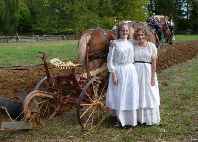 Teens Discover Life In The 1800s Through Volunteering