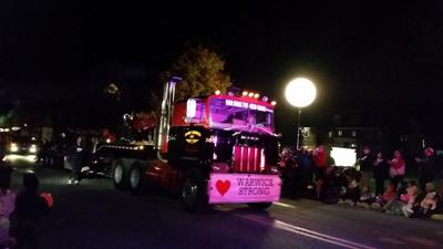 Warwick Strong float