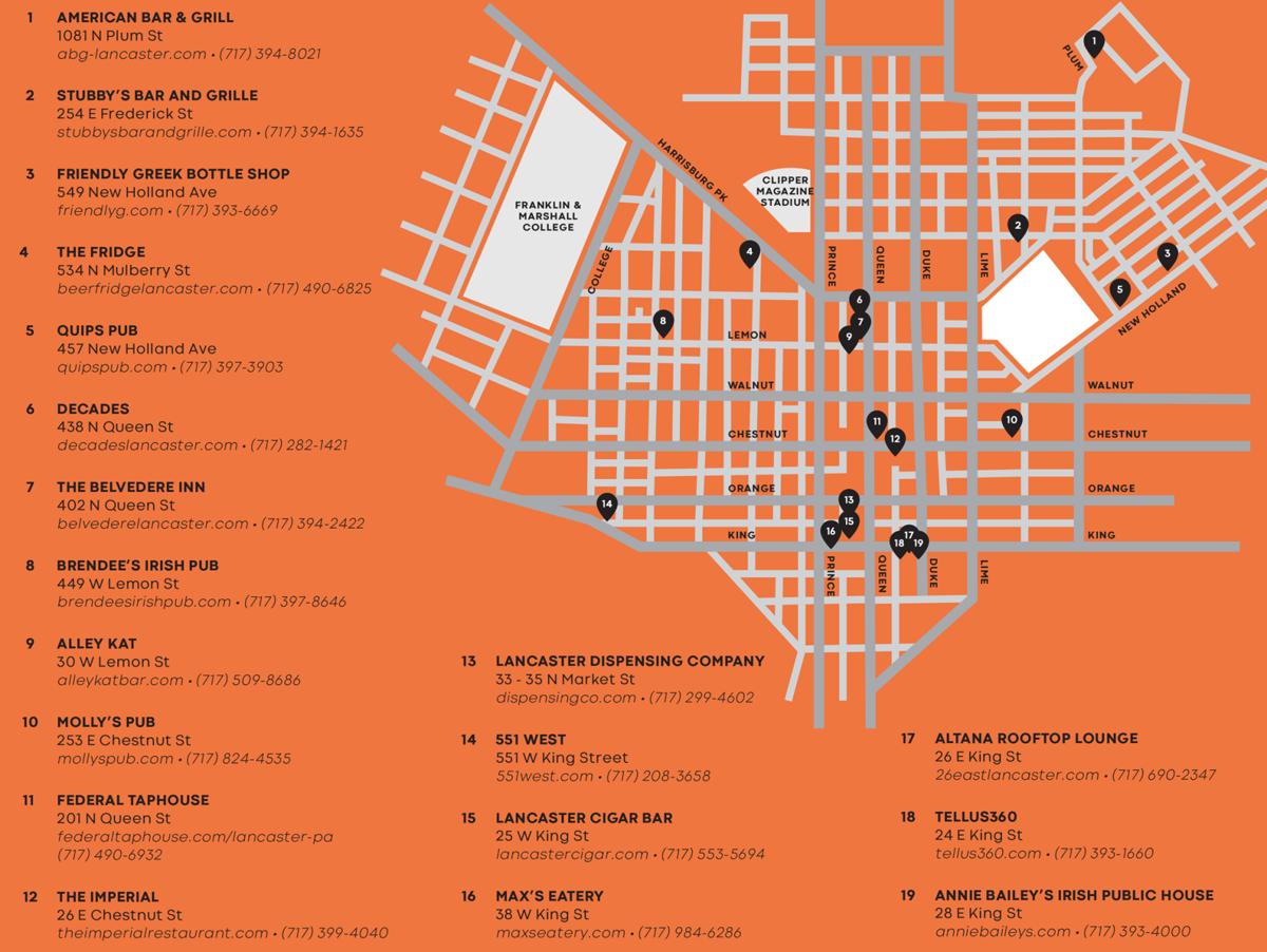 Key Krawl map