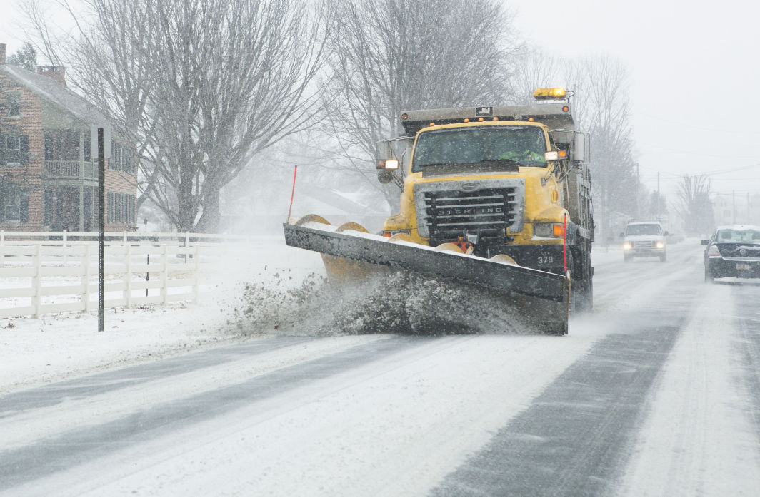 Near Real Time Tracking Of Penndot Plow Trucks Available
