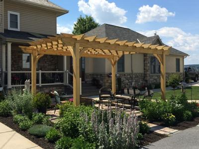 Pergola. Buy Now - Pergola: A Backyard Portal To Paradise Home + Garden