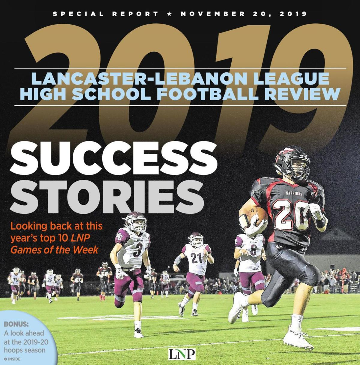 Lancaster-Lebanon League High School Football Review 2019