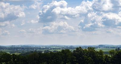 Looking out over southern Lancaster County