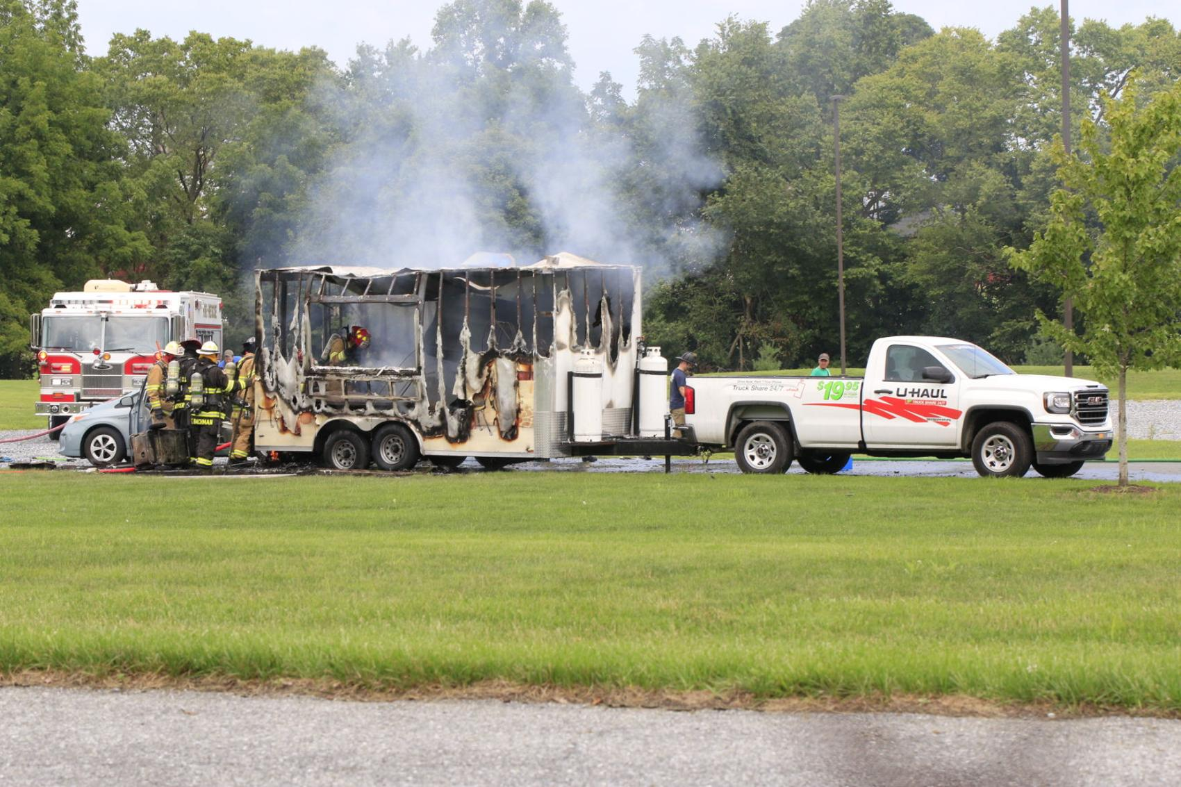 Food truck explodes in Pennsylvania, two reported with severe burns