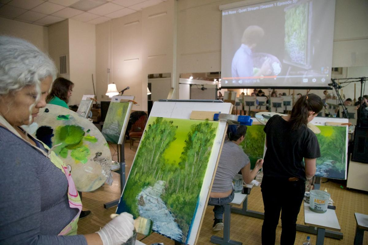 This Art Class In Lancaster Lets You Paint With Bob Ross Food