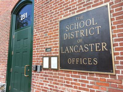 School District of Lancaster stock photo
