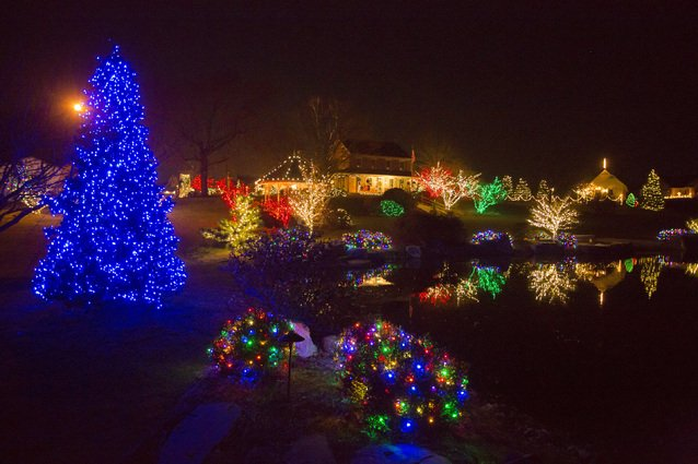 manheim 181 loghes drive - Drive Through Christmas Lights Pa