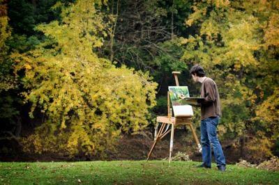en plein air painter