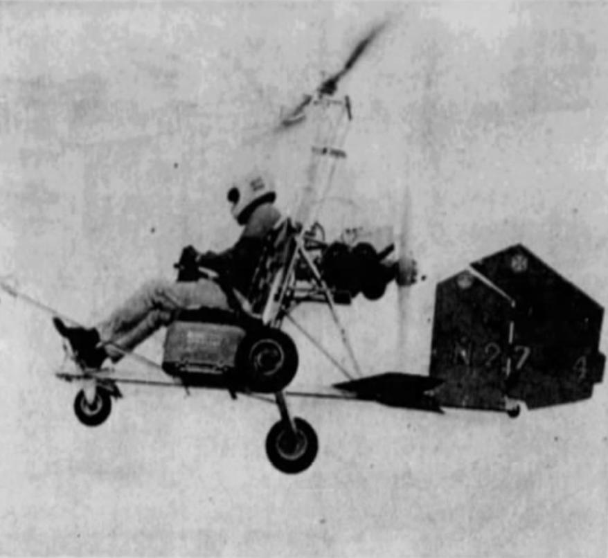 Gyrocopter, 1971