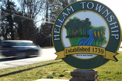 Hellam Twp. sign, York County