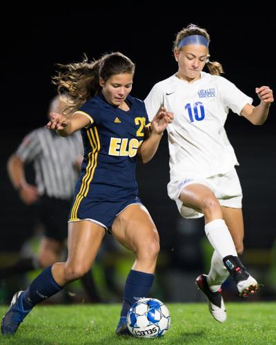 Elco girls soccer Carissa Bender vs. Cocalico's Addyson Martin