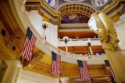 Pa. Capitol interior
