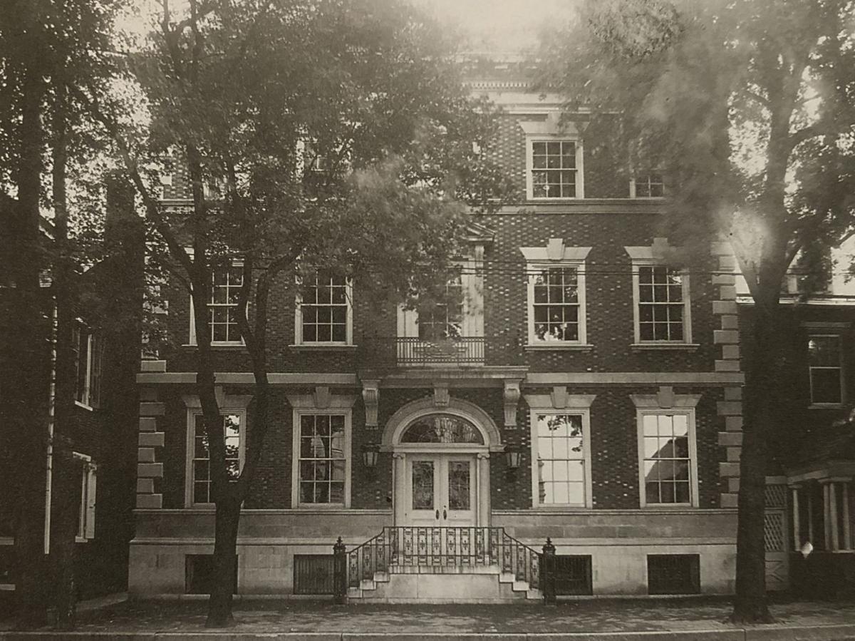 St. James Parish House in 1904