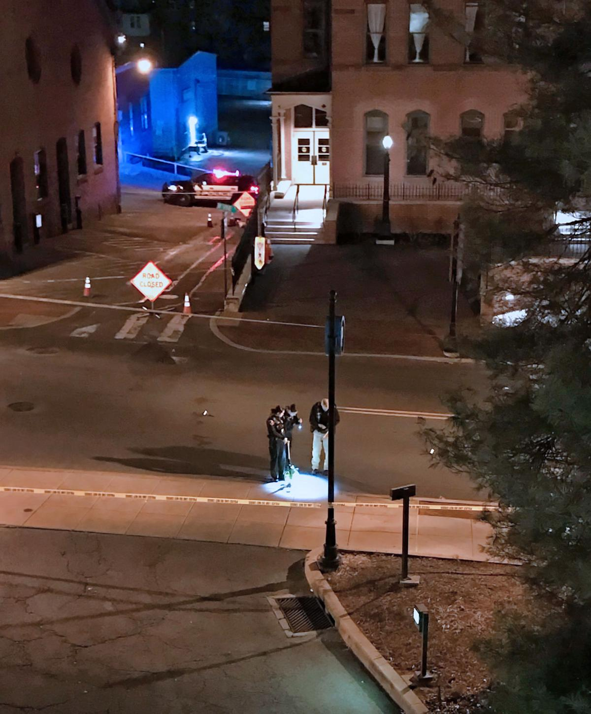 No arrests made in early morning shooting that left 2