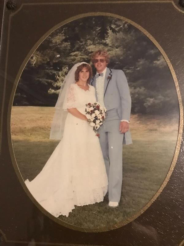Mary and Ray Gruber's Wedding Photo
