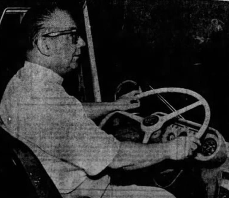 Bob Wagner bus, 1971