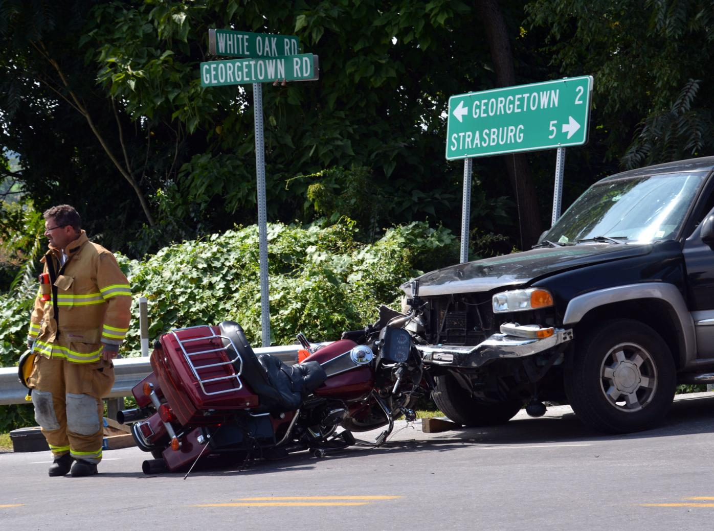 Paradise Township motorcycle accident
