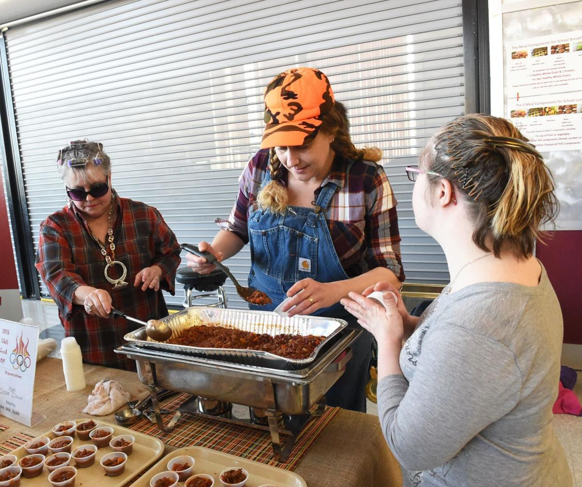 2018 Fire & Ice chili cook-off