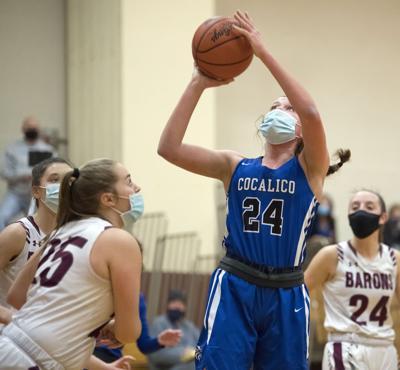 Manheim Central vs Cocalico-LL Girls Basketball