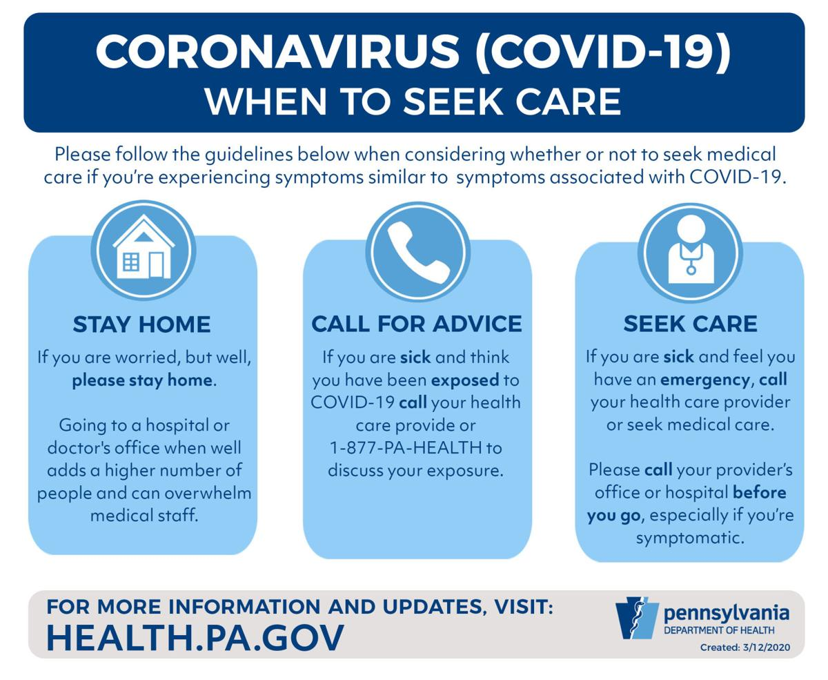 when to seek care for COVID-19
