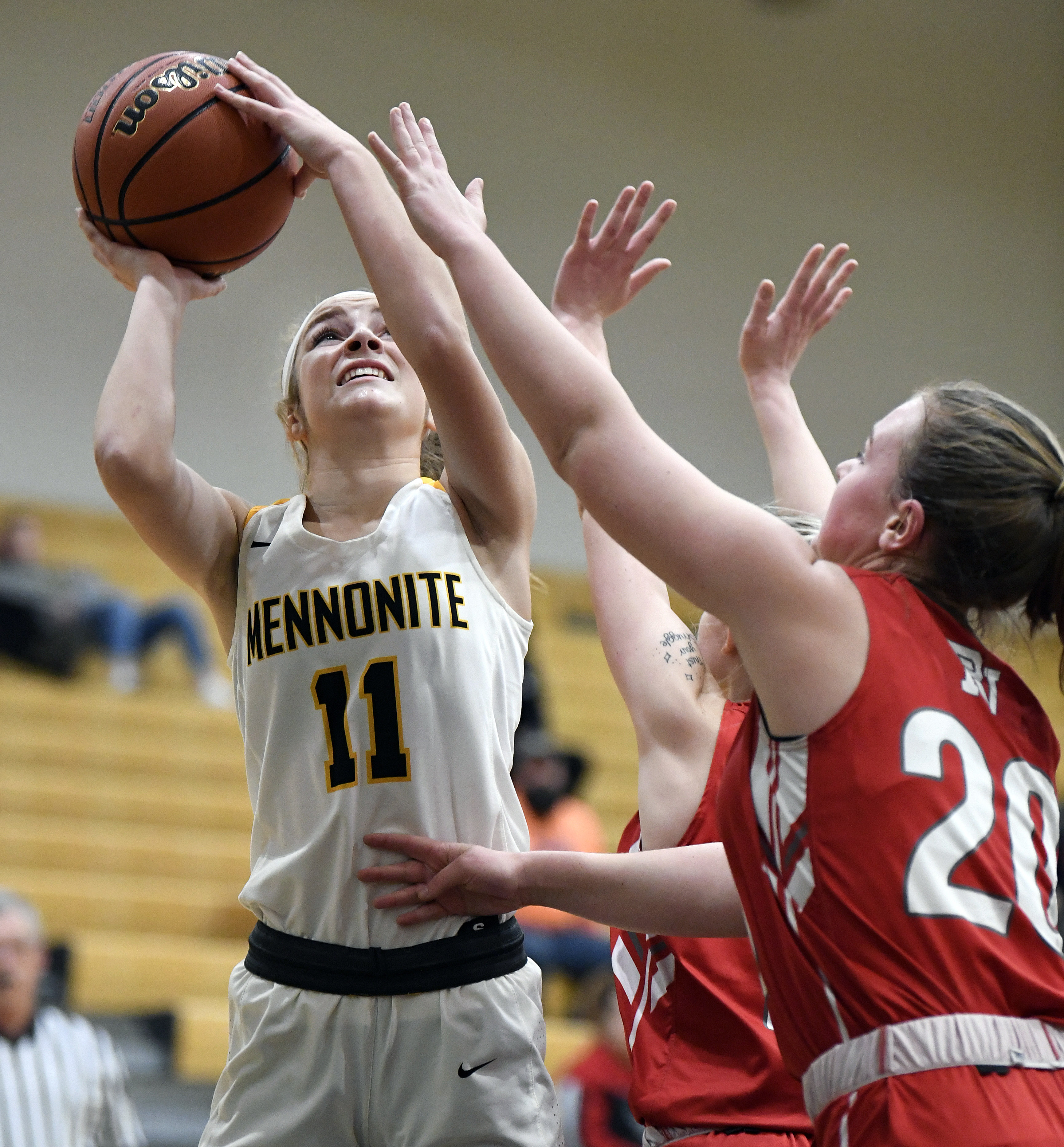 Mariah Wilson Pours In 31 Points Lancaster Mennonite Turns Up Defense In Key Section Win Over Pequea Valley Sports Lancasteronline Com