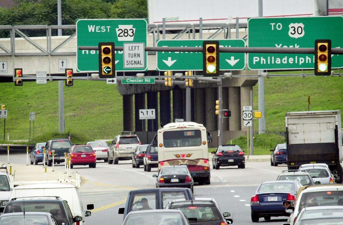 Fruitville Pike traffic