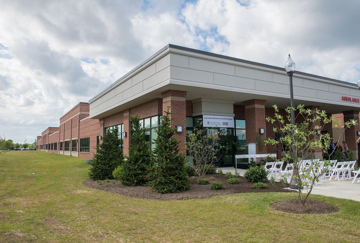 Lancaster Behavioral Health Hospital ribbon-cutting in June 2018