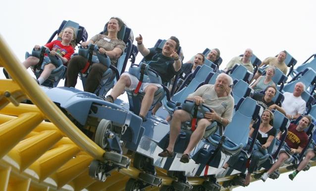 Skyrush Ups Fear Factor At Hersheypark Entertainment