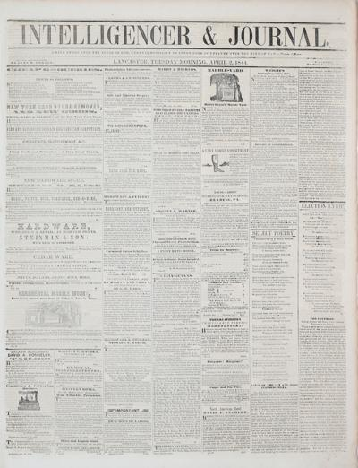 Front page - 1844
