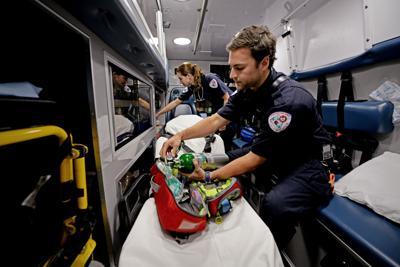 Ambulance services struggle financially
