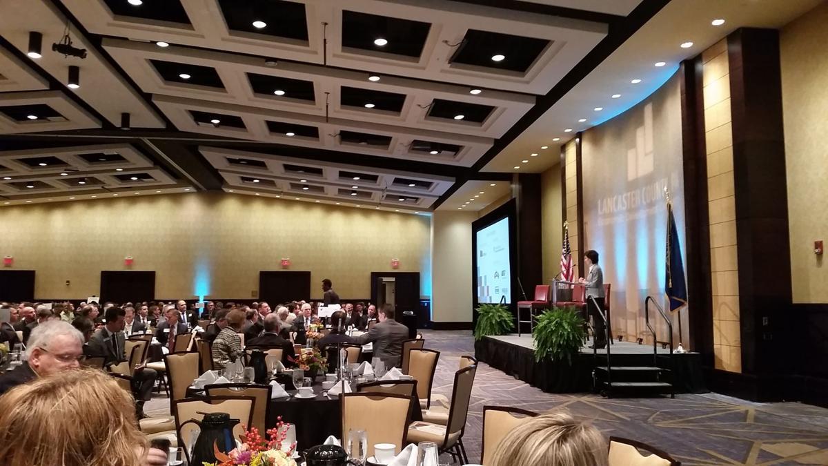 EDC annual meeting Lisa Riggs