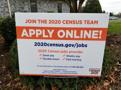 census jobs sign