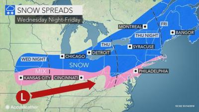 2 Winter Storms Are Headed Toward Lancaster County How Much Snow Could They Bring