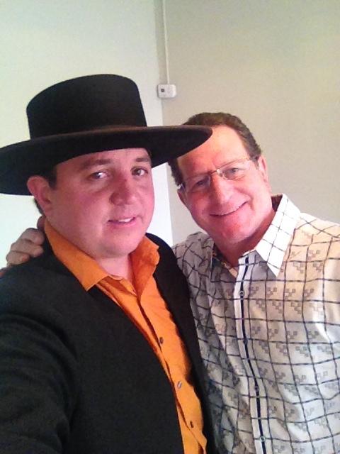 Lebanon Levi and Steve Breit selfie