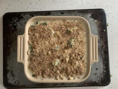 Mac before oven
