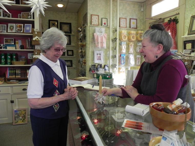 Marian Shatto and Darlene Bucher (April 19, 2014)