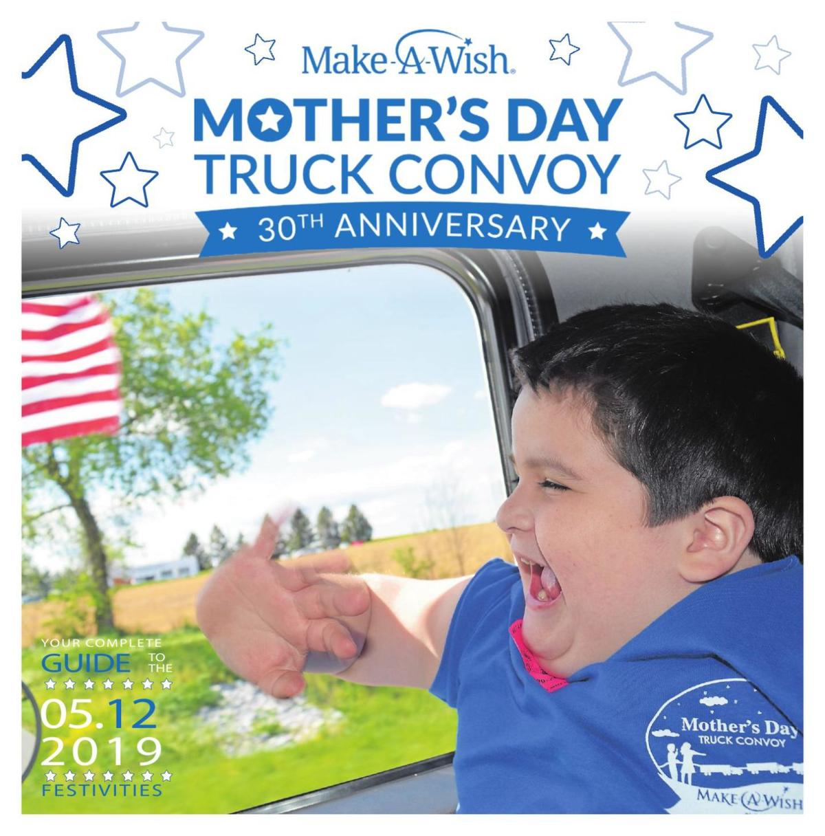 Make-A-Wish Mother's Day Truck Convoy