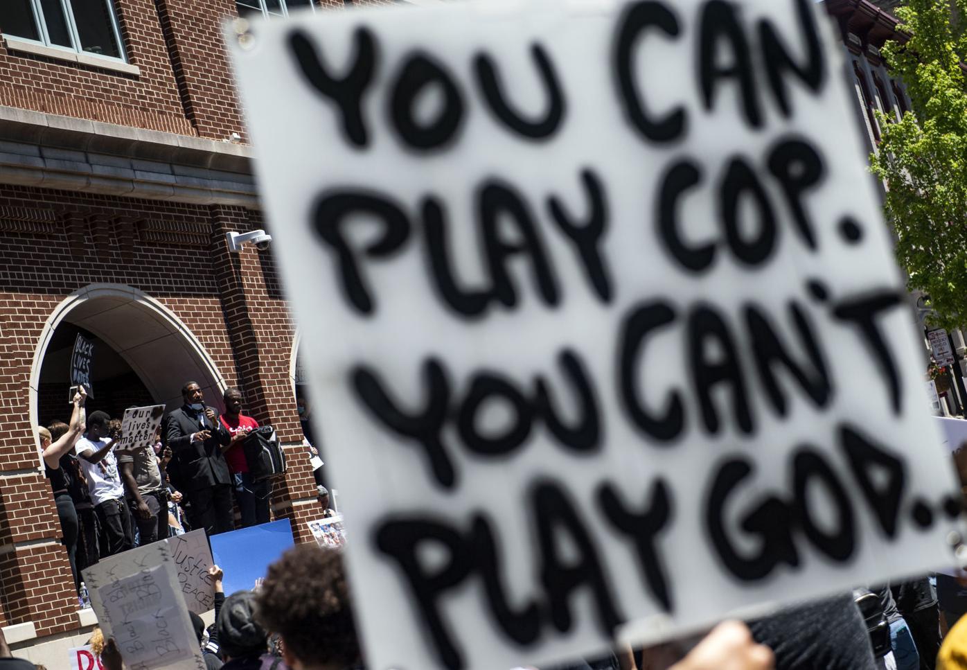 Lancaster city protest 053020