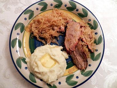 crock pot pork chops and sauerkraut beer