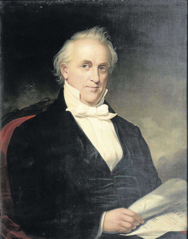 James Buchanan Scribbler
