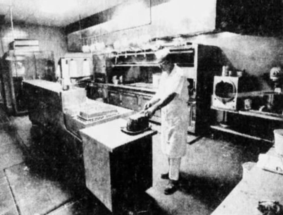 Stockyard kitchen renovation, 1977
