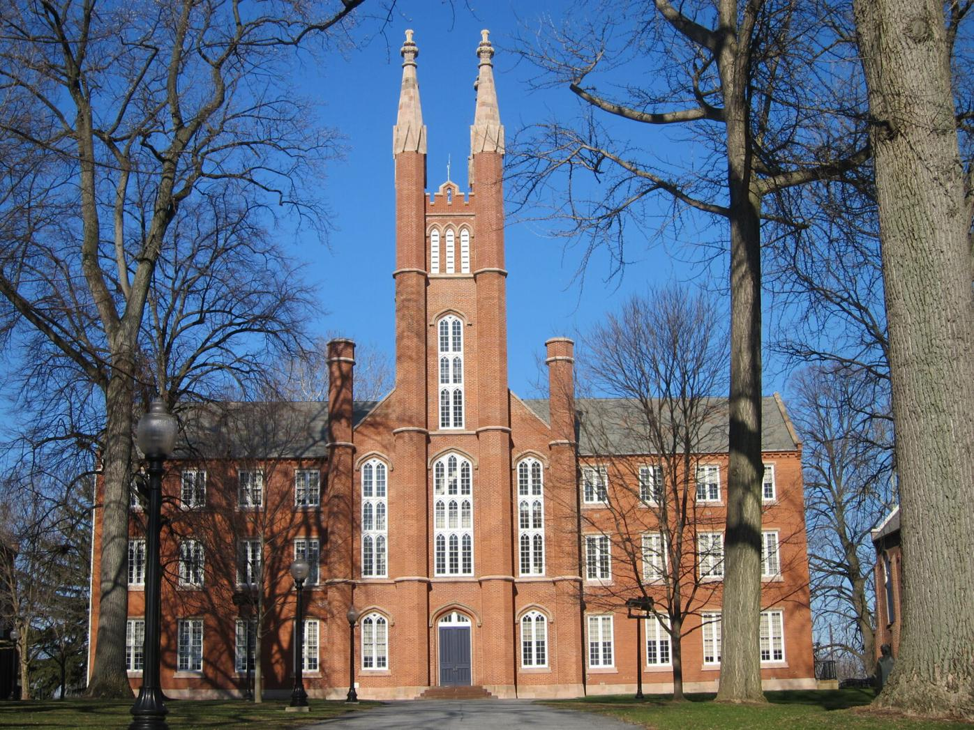 Gothic Revival architecture 3 F&M Old Main