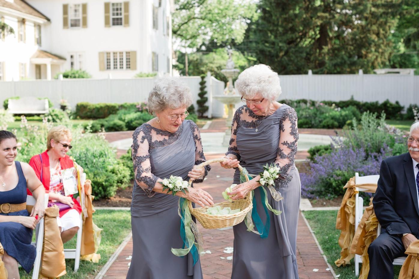 Wakefield wedding flower girls