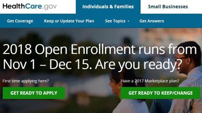 healthcare.gov home page obamacare marketplace aca affordable care act