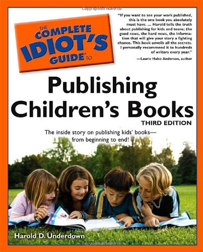 Idiot's Guide children's publishing book cover