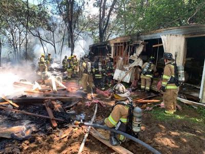 Bart Township fire