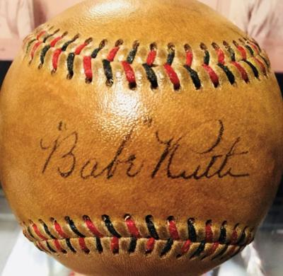 e77e67bbe Baseball great Babe Ruth's personal memorabilia goes up for auction ...