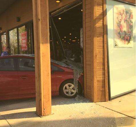 at imports lancaster pa car crashes through window at pier 1 imports 10408