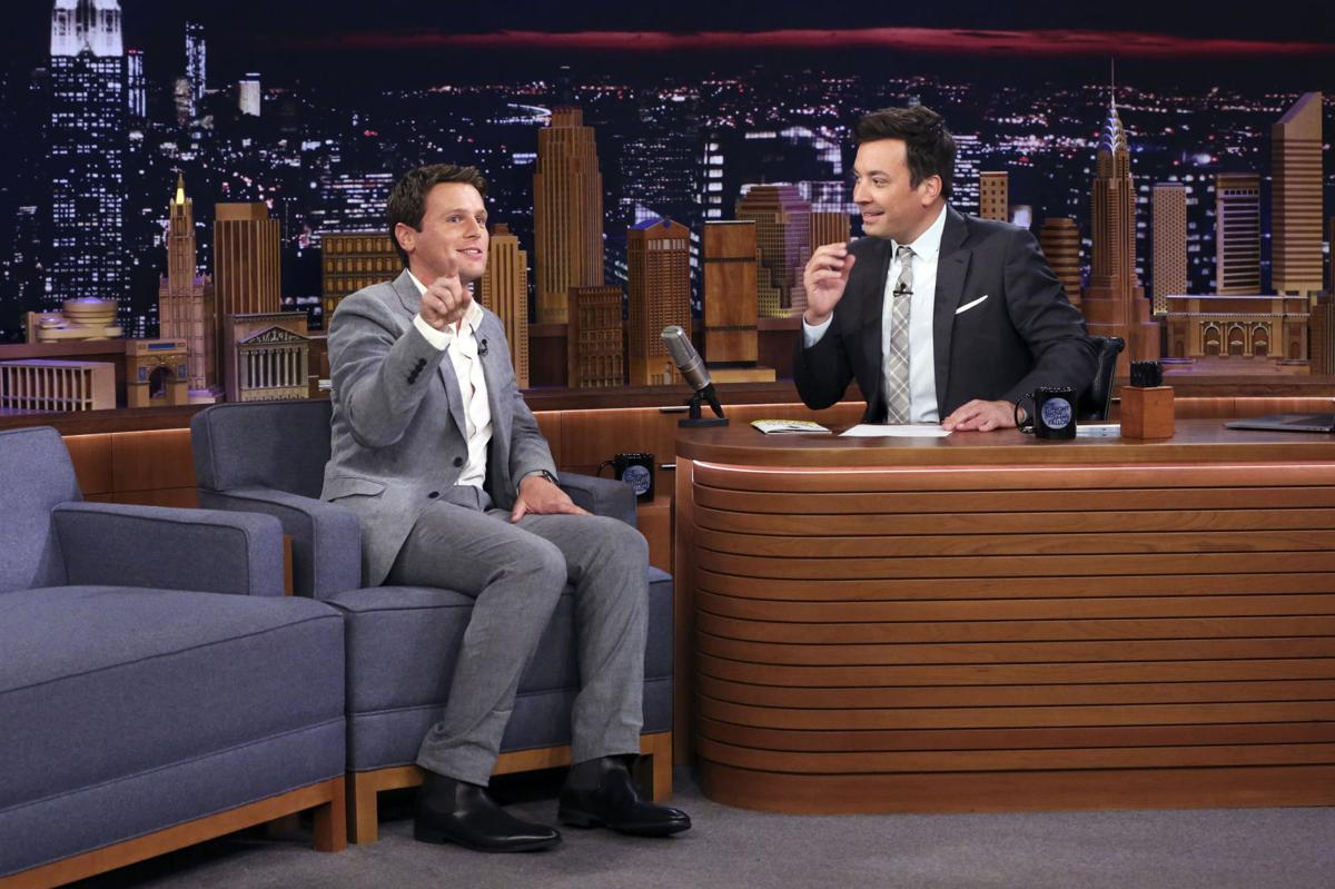 "Jonathan Groff on ""The Tonight Show"" 2"